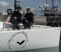 Christophe Lebas et Richard Lédée dans la Transat Ag2r