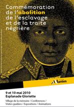 Commémoration de l'abolition de l'esclavage et de la traite négrière