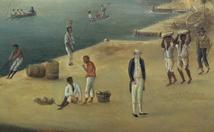 Esclaves et maîtres à Gustavia Saint-Barthélemy