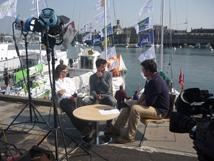 Interview RFO au départ de la Transat Concarneau St Barth
