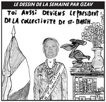 Le prochain président de la Collectivité de Saint-Barthélemy, c'est lui... mais c'est aussi notre sénateur !